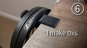 Custom 3D Printed <b>Headphone Holder</b> using Fusion 360 - YouTube