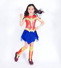 Wonder Woman <b>Costumes</b> Kids <b>Girls</b> Fancy Dress Justice League ...