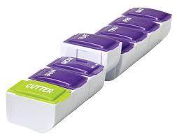 Apex <b>7</b>-<b>Day Plus Cutter</b> Detach N' Go Pill Organizer | Rite Aid