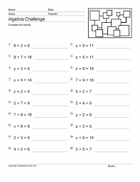 Math Worksheets For Pre Algebra | Mreichert Kids WorksheetsMath Worksheets For Pre Algebra #2