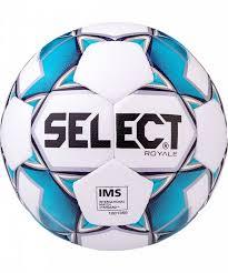 <b>Мяч футбольный Select</b> Royale, белый, синий, размер 5