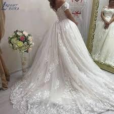 SHJ112 Luxury <b>Vestido De Noiva</b> 2019 Elegant Bridal Dress ...