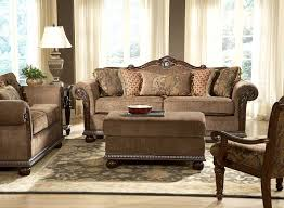 brown living room sets