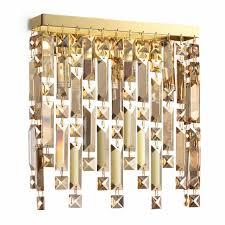 Настенный <b>светильник Ideal Lux Elisir</b> AP3 Ottone