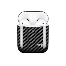 Apple AirPods <b>Real Carbon Fibre Case</b> (Wireless Charging Model ...