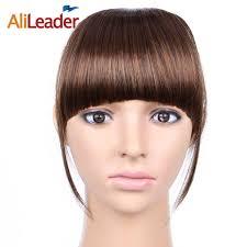 <b>AliLeader</b> False Bangs Hairpiece For Women, Black Brown Blonde ...