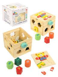 """<b>Деревянная игрушка</b> куб-сортер """"Забавный <b>мишка</b>"""" Фабрика ..."""