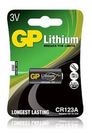 Купить <b>CR123A Батарейка GP</b> Lithium 1 шт. в интернет-магазине ...