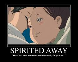 Spirited Away Love Quotes. QuotesGram via Relatably.com