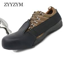 2019 <b>ZYYZYM Safety Toe</b> Shoes Covers Men <b>Work</b> Shoes <b>Steel Toe</b> ...