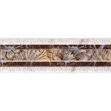 Плитка <b>бордюр</b> Евро-<b>Керамика</b> Монтерросо коричневая ...