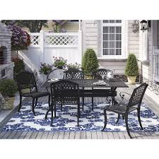 patio dining: quick view castle heights  piece outdoor dining set