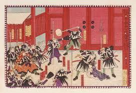 「赤穂藩士47人吉良義央邸討ち入り」の画像検索結果