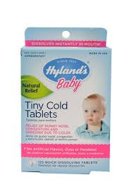 Hyland's <b>Baby Tiny Cold</b> Tablets -- 125 Quick Dissolving Tablets ...