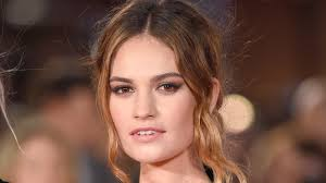 Lily James on Being the Face of Burberry, Her Long Love of ...