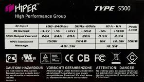 Обзор <b>блоков питания HIPER</b> Type S500 и HIPER Type M700
