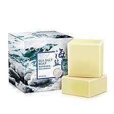 2Pcs Sea Salt Soap, Cleans Deep Facial Skin ... - Amazon.com