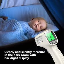 TCL <b>Non</b>-<b>Touch 3-in-1</b> Digital <b>Infrared</b> Forehead Thermometer with ...