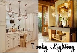 funky bathroom lights: funky bathroom lighting to update your space