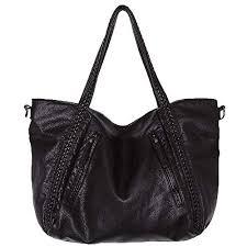 Big Capacity Fashion Women Handbags Soft Leather ... - Amazon.com