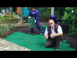 <b>Газонная решетка</b> для <b>парковки</b> и садовой дорожки на даче ...