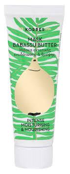 <b>KORRES Маска</b> для интенсивного увлажнения и питания кожи ...