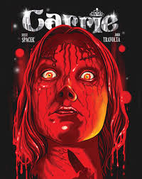 check out this gorgeous limited edition art for classic horror carrie 1976 by ghoulish gary pulin