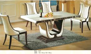Marble Dining Room Sets Luxury Italian Style Furniture Marble Dining Table 0442