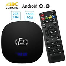 <b>2GB RAM</b> 16GB ROM <b>Android 8.1</b> TV Box Newest A95X F1 Amlogic