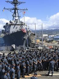 uss john paul jones ddg  vice adm thomas s rowden s uss john paul jones ddg 53 uss chung hoon ddg 93