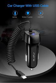 <b>RAXFLY Universal</b> Type C <b>USB Car</b> Charger For Huawei Mate 20 ...