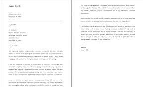 teaching cover letter format  seangarrette coteaching