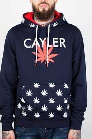 <b>Толстовка CAYLER & SONS</b> V$A Hoody (Deep Navy/Red/White, L ...