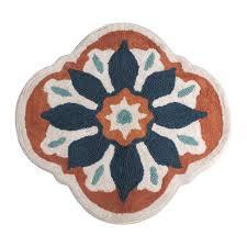 bathroom target bath rugs mats: bathroom renee cotton bath rug bathroom rugs set cotton pile