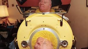 This lawyer is one of the last people alive who still uses an iron lung ...