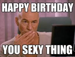Proceed Hussey, Its your birthday. We shall party as if it were ... via Relatably.com