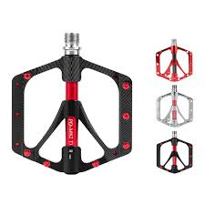 <b>1pair</b> Al Alloy <b>Bike Pedals</b> Dual Peilin Bearing <b>Bicycle Pedals</b> Flat ...