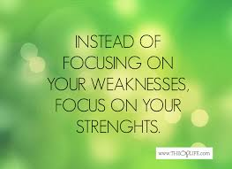 how strengths finder can do a lot of good uppedlife focus on your strengths not your weaknesses
