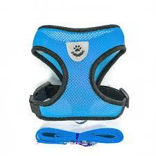 1PC Adjustable <b>Soft Breathable</b> Dog Harness <b>Nylon</b> Mesh Vest ...