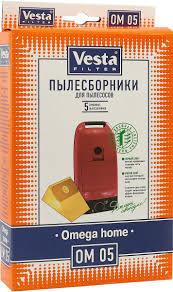 <b>Vesta filter</b> OM 05 <b>комплект пылесборников</b>, 5 шт — купить в ...