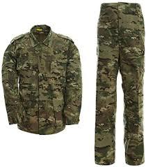 Amazon.com: LANBAOSI Men's <b>Tactical</b> BDU <b>Uniform</b> Combat <b>Suit</b> ...