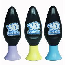 <b>Набор</b> гелей для создания объемных моделей, 3 шт.<b>3D Magic</b>