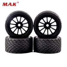 <b>1/8</b> On Road Bigfoot Wheels Tires & Rims 17mm Hex 4pcs/<b>set</b> for <b>1</b> ...