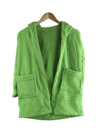 <b>халат бацькина баня</b> юниор с капюшоном 9 12 лет light green ...