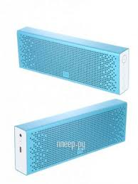 <b>Колонка Xiaomi</b> Mini Square Box 2 / Mi <b>Bluetooth</b> Speaker Blue