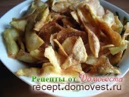 Приготовление хрустящих <b>картофельных чипсов</b> в домашних ...