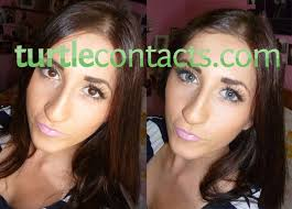 Customer submitted photos of Triple Sky Blue Contacts! - triple_color_sky_blue_contact_lenses_01