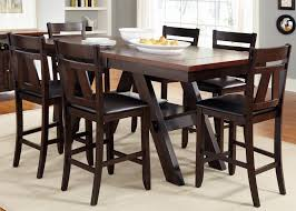 Tall Dining Room Table And Chairs Incredible Kitchen Rectangular Counter Height Dining Room Table