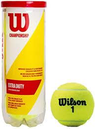 Wilson Unisex-adult Champ <b>Extra Duty Tennis</b> Balls Tennis Ball for ...