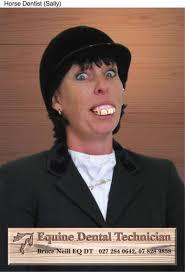 HORSE DENTIST: SALLY, Horse Dentistry, Mccann Erickson Nz, Bruce Neill, Print - horse-dentistry-sally-small-41331